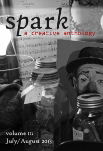 Recent cover image or website screenshot for Spark: A Creative Anthology Contest One