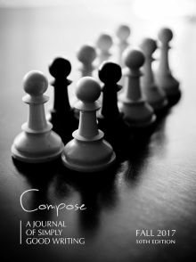 Recent cover image or website screenshot for Compose: A Journal of Simply Good Writing