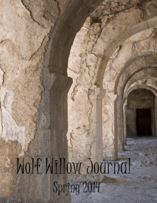 Recent cover image or website screenshot for Wolf Willow Journal