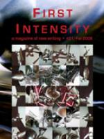 Recent cover image or website screenshot for First Intensity