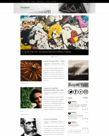 Recent cover image or website screenshot for AnobiumLit.com