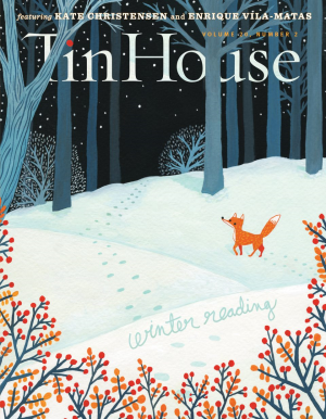 Recent cover image or website screenshot for Tin House