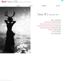 Recent cover or screenshot for Red Paint Hill Poetry Journal