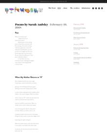 Recent cover image or website screenshot for Potluck Magazine