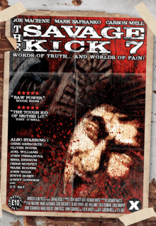 Recent cover image or website screenshot for Savage Kick