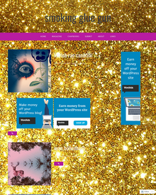 Recent cover image or website screenshot for smoking glue gun magazine
