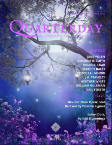 Recent cover image or website screenshot for The Quarterday Review