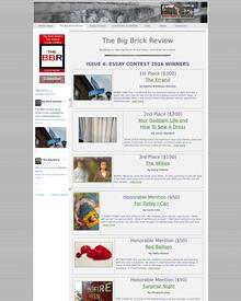 Recent cover or screenshot for The Big Brick Review Essay Contest