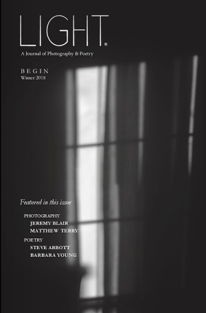 Recent cover image or website screenshot for Light: A Journal of Photography & Poetry