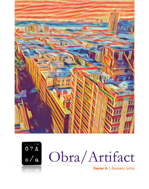 Recent cover image or website screenshot for Obra/Artifact