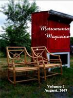 Recent cover image or website screenshot for Metromania Magazine