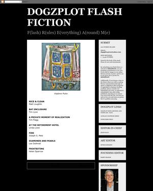 Recent cover image or website screenshot for DOGZPLOT Flash Fiction