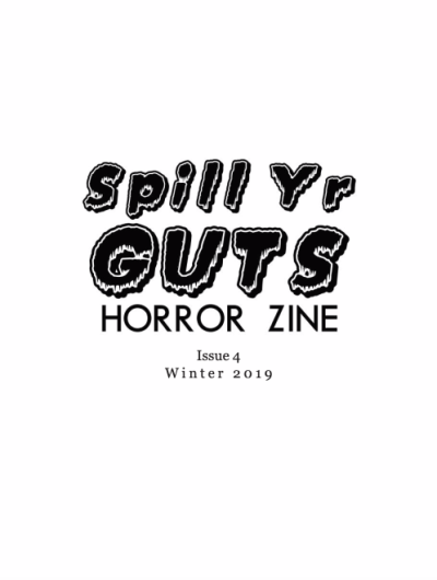 Recent cover image or website screenshot for Spill Yr Guts Horror Zine