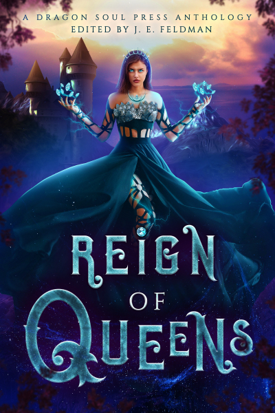 Recent cover image or website screenshot for Reign of Queens Anthology