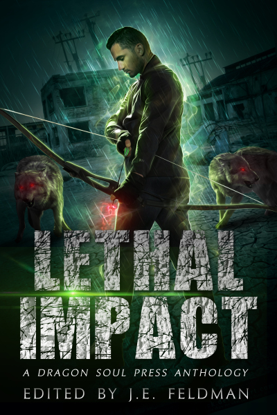 Recent cover image or website screenshot for Lethal Impact Anthology