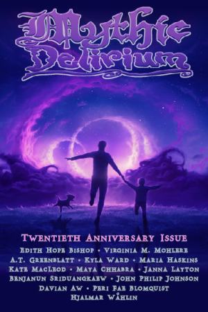 Recent cover image or website screenshot for Mythic Delirium Magazine