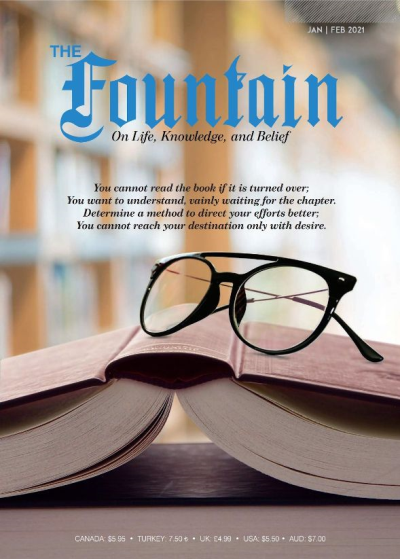 Recent cover image or website screenshot for Fountain Magazine