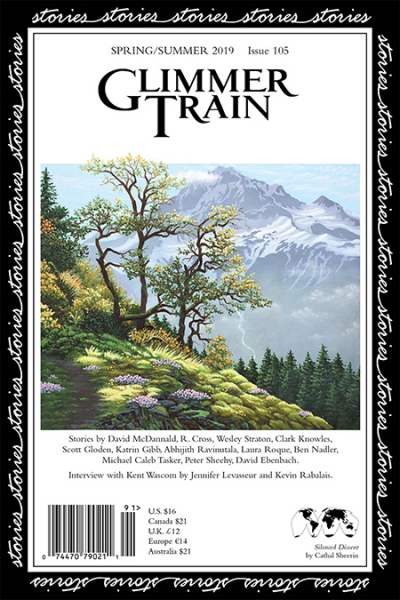 Recent cover image or website screenshot for Glimmer Train