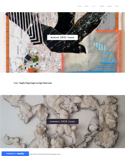Recent cover image or website screenshot for Bee House Journal