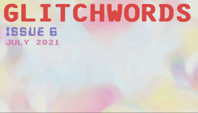 Recent cover image or website screenshot for GLITCHWORDS