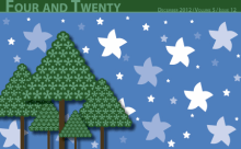 Recent cover image or website screenshot for Four and Twenty