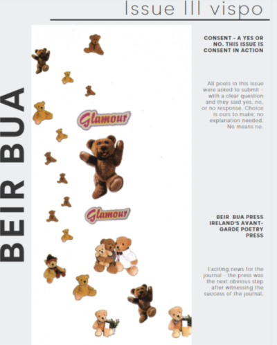 Recent cover image or website screenshot for Beir Bua Journal