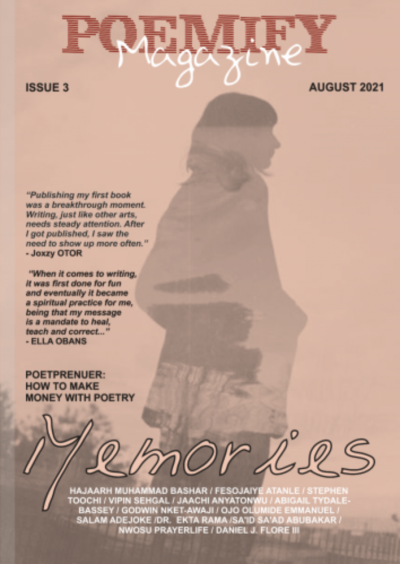 Recent cover image or website screenshot for Poemify Magazine