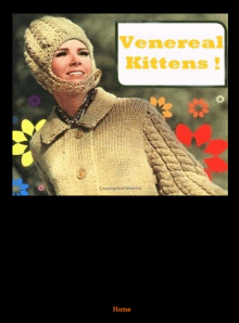Recent cover image or website screenshot for Venereal Kittens