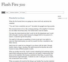Recent cover image or website screenshot for Flash Fire 500