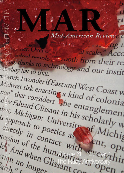 Recent cover image or website screenshot for Mid-American Review