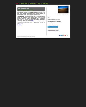 Recent cover image or website screenshot for Postcard Shorts