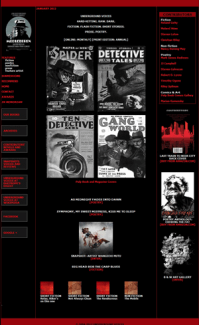 Recent cover image or website screenshot for Underground Voices Magazine