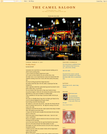 Recent cover image or website screenshot for The Camel Saloon