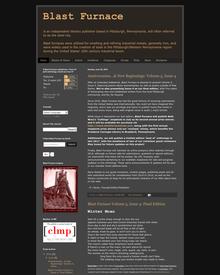 Recent cover image or website screenshot for Blast Furnace