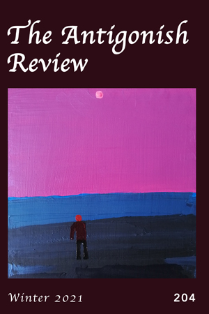 Recent cover image or website screenshot for The Antigonish Review