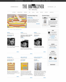 Recent cover image or website screenshot for The Brooklyner Web