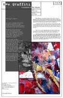 Recent cover image or website screenshot for new graffiti: Literature on the Streets