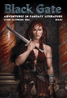Recent cover image or website screenshot for Black Gate: Adventures in Fantasy Literature