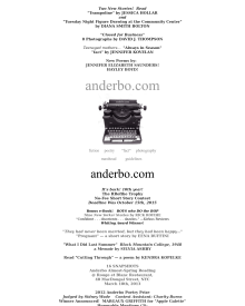 Recent cover image or website screenshot for anderbo.com