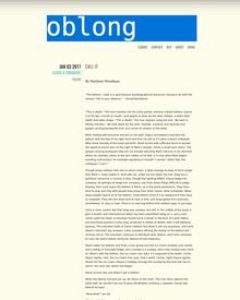 Recent cover image or website screenshot for Oblong