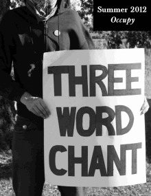 Recent cover image or website screenshot for Three Word Chant