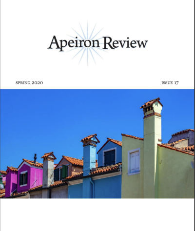 Recent cover image or website screenshot for Apeiron Review