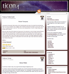 Recent cover image or website screenshot for Ticon4