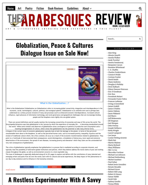 Recent cover image or website screenshot for The Arabesques Review
