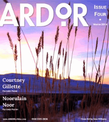 Recent cover image or website screenshot for ARDOR Literary Magazine