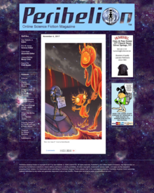 Recent cover image or website screenshot for Perihelion Science Fiction