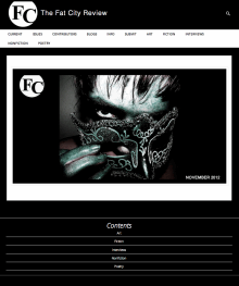 Recent cover image or website screenshot for Fat City Review