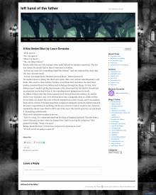Recent cover image or website screenshot for Left Hand of the Father