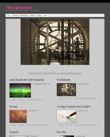 Recent cover image or website screenshot for The Lightkeeper