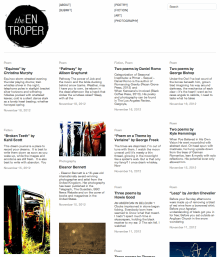 Recent cover image or website screenshot for The Entroper